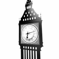 《DALI》創意無痕壁貼◆倫敦大笨鐘 含台製時鐘機心