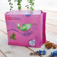 UFT 天然草本衛生棉-安心夜用型*6包