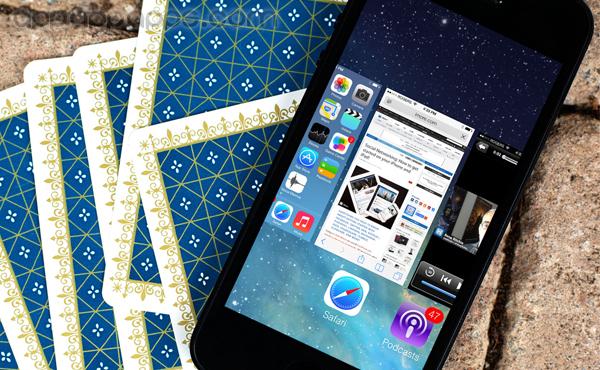 [iOS教學]iOS 7多任務界面: 隱藏方法更快速轉Apps [影片]
