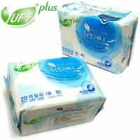 天然草本【UFT】韓版草本假期衛生棉《日用型》30入