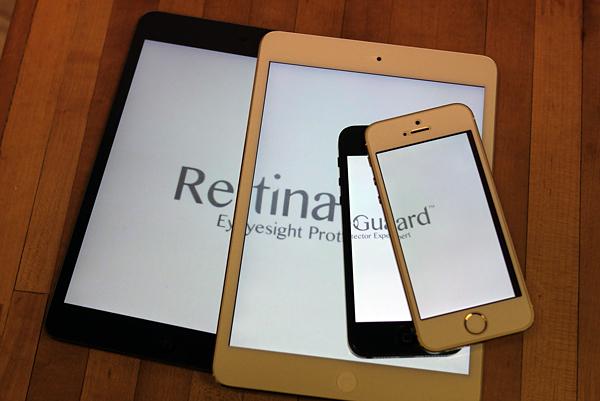 【開箱】Retina Guard 視網盾抗藍光螢幕保護貼