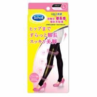 【英國爽健Scholl】日本Qtto系列-提臀修長機能美腿踩腳襪