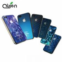 OBIEN iPhone4 4S 3D藍光立體保護膜組 前+後貼