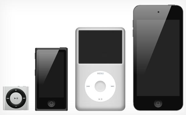 Apple 網頁有改變: 經典 iPod 時代終結?
