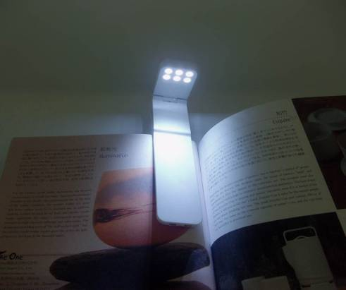《品居國際》StarLite Led 書籤夾燈