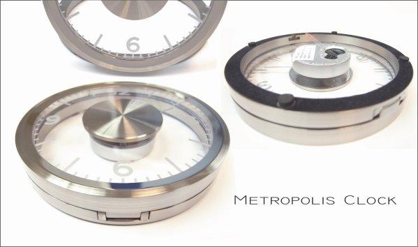 《品居國際》Metropolis 掛/桌鐘