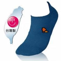 NUMEN 除臭機能襪~NEW~三跟船襪 隱形襪 軍隊藍-厚薄2款