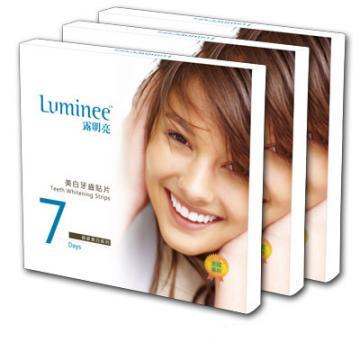 Luminee 露明亮美白牙齒貼片3盒加贈有機護唇膏3支