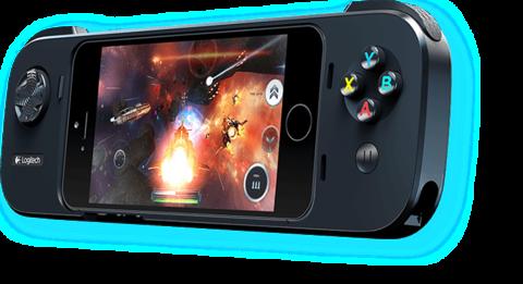 可化iPhone 為遊戲機的羅技外接搖桿 G550 PowerShell 月底在台推出
