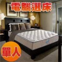 睡眠達人SL5203 國家專利 護背型獨立筒床墊 比利時乳膠 Q彈 標準單人 MIT 送USB保暖毯