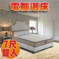 [睡眠達人SL7001]國家專利 強化型獨立筒床墊+天絲棉+記憶綿 特大雙人 MIT 送USB保暖毯