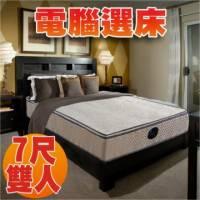 睡眠達人SL9901 國家專利 彈簧床墊 天絲棉+記憶綿 適合大體型者 特大雙人 MIT 送USB保暖毯