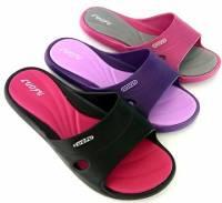 e鞋院 [雙色佳人]女室內 室外拖鞋