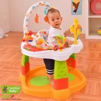 Creative Baby - Rhyme Tyme 多功能固定彈跳學步遊戲中心