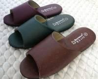 e鞋院 [時尚駝鳥紋]室內拖鞋