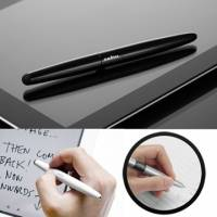 cubiii - Oval Pen 雙用觸控筆-鋼琴黑