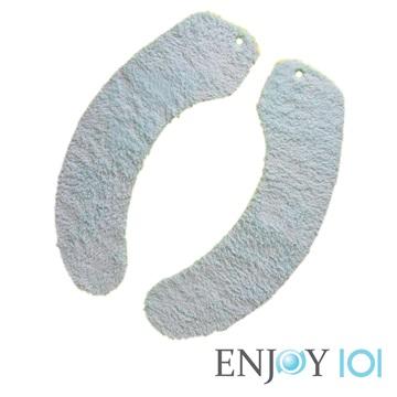 《ENJOY101》水洗式。抗菌止滑馬桶坐墊 - 家用型(淺藍)