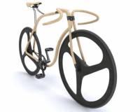 手工打造木製單車 每台7萬鎂