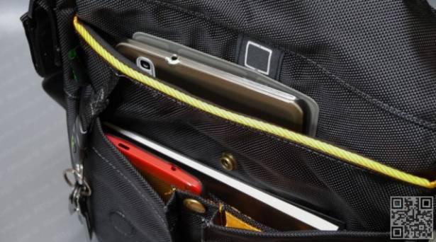 方便攜帶平板的防水信差包 Shuai M1 Series Messenger XS