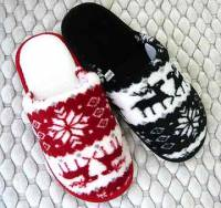 e鞋院 [聖誕馴鹿]絨毛室內拖鞋