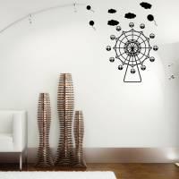 【Smart Design】創意無痕壁貼◆摩天輪