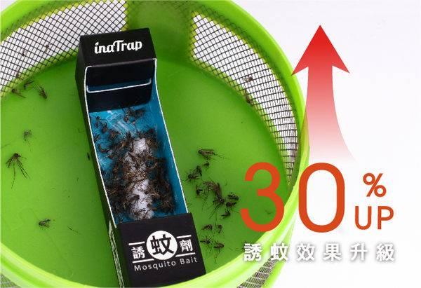 《環保之家》inaTrap 捕蚊達人 新版誘蚊劑 2入 × 5組