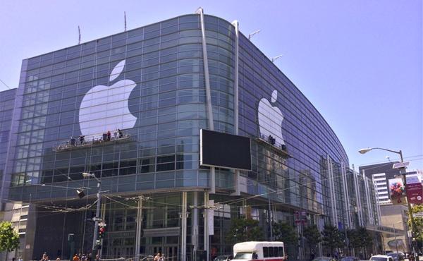 Apple WWDC 發佈會快完成佈置, 今年也有神秘海報 [圖庫]