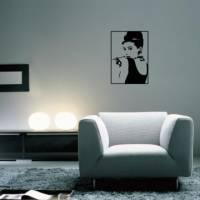 【Smart Design】創意無痕壁貼◆美女剪影