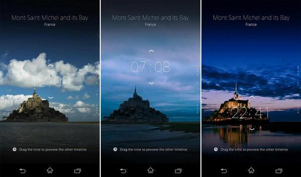 Sony Alpha Clock 網站︰旅遊世界遺產日與夜