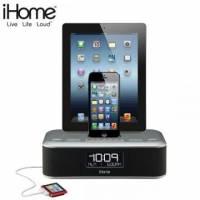 iHome iDL100 雙插座音樂播放器 for iPhone5 5s 送瑞士設計復古電話