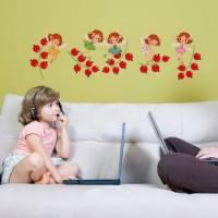 《Smart Life》創意無痕壁貼◆紅莓精靈