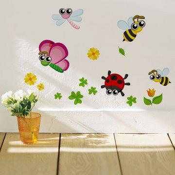 《Smart Life》創意無痕壁貼◆可愛小昆蟲
