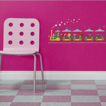 《Smart Life》創意無痕壁貼◆動物列車