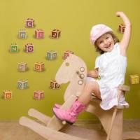 《Smart Life》創意無痕壁貼◆彩色英文字母