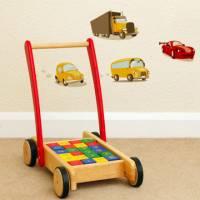 《Smart Life》創意無痕壁貼◆彩色小汽車