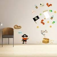 《Smart Life》創意無痕壁貼◆海盜寶藏