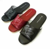 e鞋院 [皮爾帕門P.B]精緻室內皮拖鞋