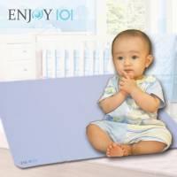升級版《ENJOY101》矽膠布防蟎止滑隔尿墊 - L*2件組