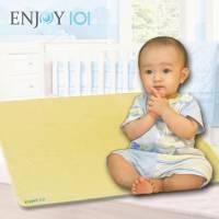 升級版《ENJOY101》矽膠布防蟎止滑隔尿墊 - M+L超值組