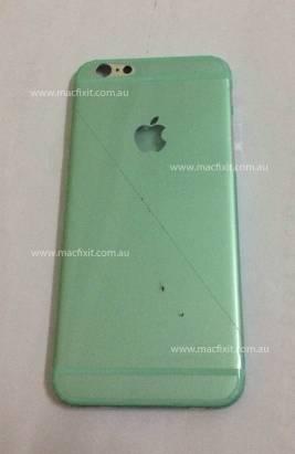 出現樣版機沒有的東西: iPhone 6 實機外殼或首次流出
