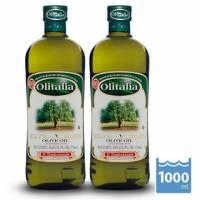 【Olitalia奧利塔】特級冷壓橄欖油1000mlx2瓶 禮盒