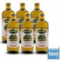 【Olitalia奧利塔】純橄欖油1000mlx6瓶 3組禮盒