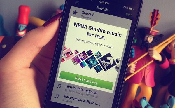 iPhone終於也有: Spotify免費音樂串流啟動 [影片]