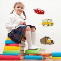 《Smart Life》創意無痕壁貼◆彩色小汔車