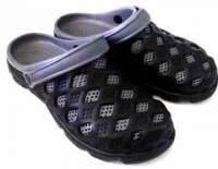 e鞋院 園丁鞋 布希鞋II---男 黑 灰