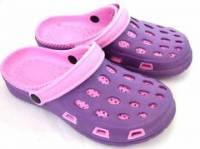 e鞋院 園丁鞋 布希鞋---女 紫粉