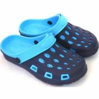 e鞋院 園丁鞋 布希鞋---女 藍