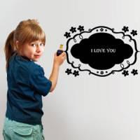 【Smart Design】創意無痕壁貼◆白鳥花香 可當留言板附擦擦筆