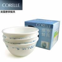 【CORELLE 康寧】古典藍中式飯碗三件組