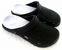 e鞋院 園丁鞋 布希鞋II---男 黑 白